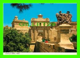 MALTE- MALTA - GATEWAY TO  THE OLD CAPITAL CITY OF MDINA - ANIMATED - PRINTEX - - Malte