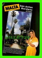 MALTE- MALTA - ATTARD, SAN ANTON GARDENS - MIRANDA POUBLICATIONS - - Malte