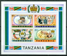 Tanzania 1977 25th Anniv. Of Reign Of Elizabeth II. MNH** - Lot. A306 - Tanzanie (1964-...)