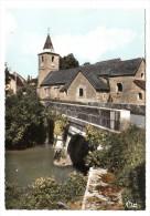 39 - Chilly Le Vignoble - Le Pont Sur La Sorne Et L'église - Editeur: Combier N° 450 - France