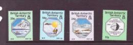 BAT 1987 ANNEE GEOPHYSIQUE  Yvert N°164/67 NEUF MNH** - Territoire Antarctique Britannique  (BAT)