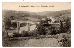 CP, 42, SAINT-JODARD, Pont Et Restaurant De La Vordial, Vierge - France