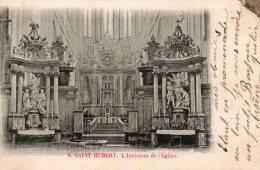 Saint Hubert - L'Intérieur De L'Eglise - Saint-Hubert