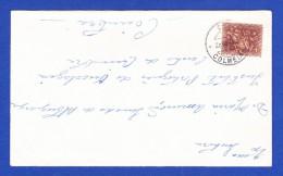ENVELOPPE  -- CACHET - CTT . ***** COLMEIAS ***** - 28.MAR.64 - 1910-... República
