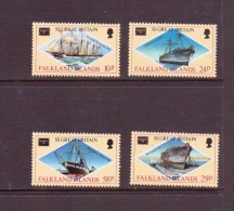 FALKLAND 1986 BATEAUX-AMERIPEX'86  Yvert N°461/64  NEUF MNH** - Bateaux
