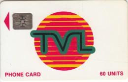 VANUATU - TVL Logo, First Issue 60 Units, CN : 40734, Used - Vanuatu