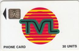 VANUATU - TVL Logo, First Issue 30 Units, CN : 40733, Used - Vanuatu