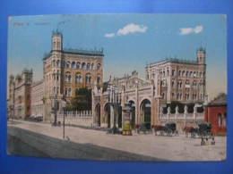 AK WIEN 1912 Bahnhof   /////  W5513 - Wien Mitte
