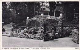 Schwalm Fountain Spring Park Eldorado Springs Missouri
