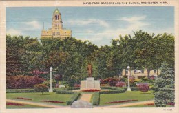 Mayo Park Gardens And The Clinic Rochester Minnesota