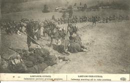 Lisy Sur Ourcq Infanterie Partant Prendre Position - Guerre 1914-18