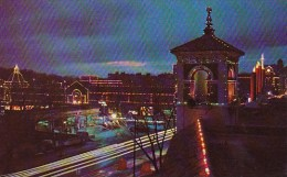 Beautiful Country Club Plaza At Christmas Time Kansas City Misso