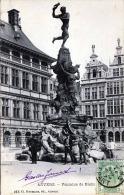 ANVERS - Fontaine De Prabo - Belgique
