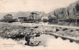 "Cpa  Suisse "" Gotthard-hospiz ""..joli Site Montagneux - TI Tessin"