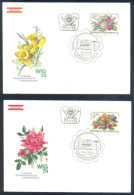 Austria Flora Flowers 1974 - 3 Covers - Wiener Internationale Gartenschau - Kurzentrum Oberlaa Vienna WIG 74 - Autres