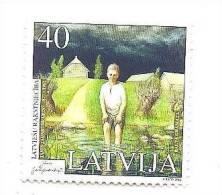 """LATVIA - Writer - """" White Paper """" - Balta Gramata - 2002 - MNH - Lettonie"""