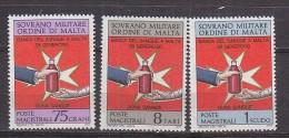 PGL BT026 - SMOM ORDRE DE MALTE SASSONE N°107/09 ** - Sovrano Militare Ordine Di Malta