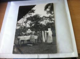 PHOTO VERITABLE SOEURS DU SAINT COEUR DE MARIE DE RODEZ-CAMEROUN - COURS DE REPASSAGE - Ethnics
