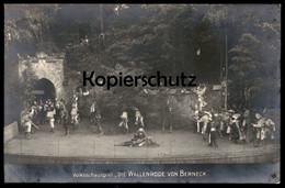 ALTE POSTKARTE VOLKSSCHAUSPIEL DIE WALLENRODE VON BERNECK 1914 Theater Théatre De Plein Air Freilichtbühne Bad Berneck - Germania