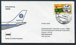 1981 Brazil Varig MBB Airbus Flight Cover - Luchtpost