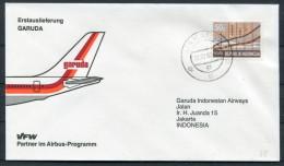 1982 Jakarta Airbus Indonesia VFW GARUDA First Flight Cover - Indonesia