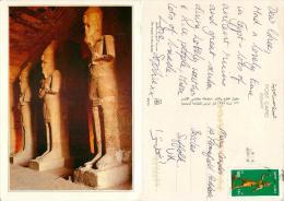 Abu Simbel, Egypt Postcard 2000s Stamp - Abu Simbel Temples