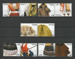 Portugal 2007  Mi.Nr. 3125 / 34 , Trachten - Postfrisch / MNH / Mint / (**) - 1910-... République