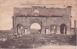 CPA Lambèse - Ruines Romaines - Le Prétorium (3498) - Batna