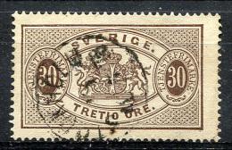SWEDEN 1874 Perf.14 - Mi.9A (Yv.9B, Sc.O9) Used (VF) - Servizio