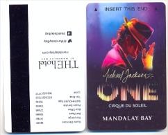 Mandalay Bay Hotel & Casino, Las Vegas, Used Magnetic Hotel Room Key Card # Mb-76a - Cartes D'hotel