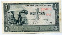 South Vietnam Viet Nam 1 Dong UNC Banknote 1955 - P#11a - Vietnam