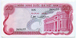 South Vietnam Viet Nam 20 Dong UNC Banknote 1969 - P#24a - Vietnam