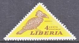 LIBERIA  343  *  FAUNA  BIRDS  HORN BILL - Liberia