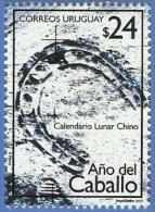 uru0206 Uruguay 2002 Year of the horse 1v