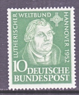 GERMANY  689   *   MARTIN LUTHER - [7] Federal Republic