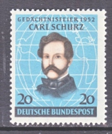 GERMANY  691  *   CARL SCHURZ - Unused Stamps