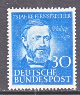 GERMANY  693   *  SCIENCE TELEPHONE - [7] Federal Republic