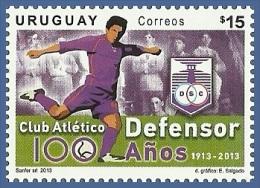 uru1308 Uruguay 2013 Defunsor 100 years Scooer Football 1v