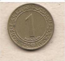 Algeria - Moneta Circolata Da 1 Dinaro - 1972 - Algeria
