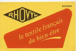 Buvard  Marque  RHOVYL  Le  Textile  Français  Du  Bien - être - Collezioni & Lotti