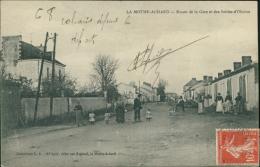 85 LA MOTHE ACHARD / La Route De La Gare Et Des Sables D'Olonne / - La Mothe Achard