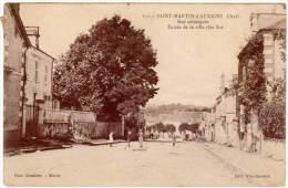 Saint Martin D'Auxigny - Rue Principale ... - Autres Communes