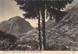 38 ALLEMONT VALLEE DE L EAU D OLLE ET LE CORNILLON - Allemont
