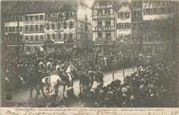 67 STRASBOURG - Entrée Solennelle Du Maréchal Pétain 25/11/18 - Défilé Des Troupes Place Kléber - Strasbourg