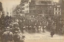 67 STRASBOURG - Entrée Solennelle Du Maréchal Pétain 25/11/18 - La Nouba Du 4° Rgt Mixte De Tirailleurs - Strasbourg