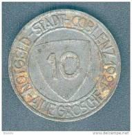 1921 10 GROSCHE COBLENZ - Sin Clasificación