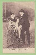 Gérard LEENE, Sprinter, Champion De Hollande. 2 Scans. Edition Beauvais - Radsport