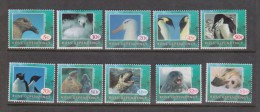 Ross Dependency 1994 Fauna Definitive First Set 10 Excludes Later 40c  MNH Seal Penguin - Unclassified