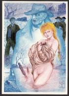 Serge MOGERE - Les Chevaux De La Nuit - Femme Nue - 1988 - Illustrateurs & Photographes