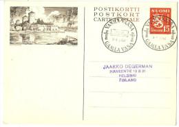 LAC5 - FINLANDE EP CP ILLUSTREE OBL. COMMEMORATIVE 3/8/1952 - Postwaardestukken
